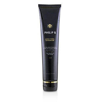 PHILIP B MEGA CURL ENHANCER (ULTRA-MOISTURIZING LEAVE-IN CONDITIONER - ALL HAIR TYPES)  178ML/6OZ
