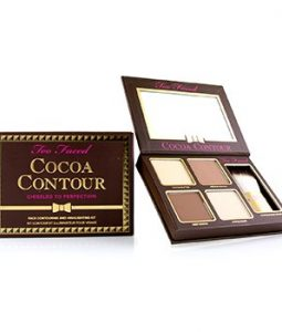 TOO FACED COCOA CONTOUR FACE CONTOURING AND HIGHLIGHTING KIT - # MEDIUM TO DEEP  -