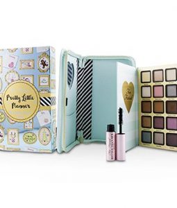 TOO FACED PRETTY LITTLE PLANNER BEST YEAR EVER 2018 : (15X EYESHADOW, 1X MASCARA)  -