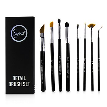 SIGMA BEAUTY DETAIL BRUSH SET  8PCS