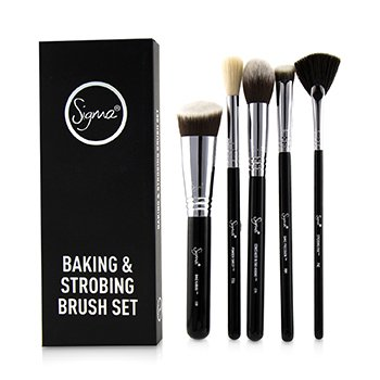 SIGMA BEAUTY BAKING & STROBING BRUSH SET  5PCS