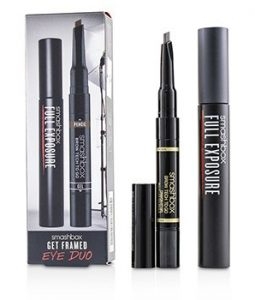 SMASHBOX GET FRAMED EYE DUO SET : ( 1X FULL EXPOSURE MASCARA, 1X BROW TECH TO GO)  2PCS