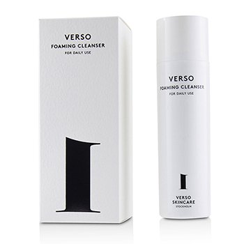 VERSO FOAMING CLEANSER  90ML/3.04OZ