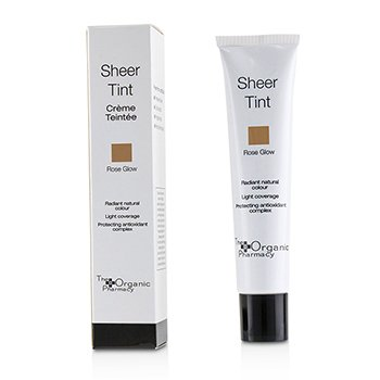 THE ORGANIC PHARMACY SHEER TINT - # ROSE GLOW  40ML/1.4OZ