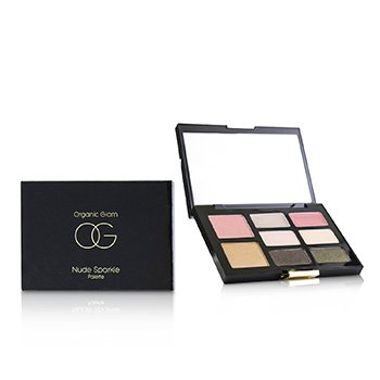 THE ORGANIC PHARMACY ORGANIC GLAM NUDE SPARKLE PALETTE  9.2G/0.32OZ