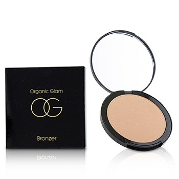 THE ORGANIC PHARMACY ORGANIC GLAM BRONZER - # BRONZER LIGHT BRONZE  9G/0.31OZ