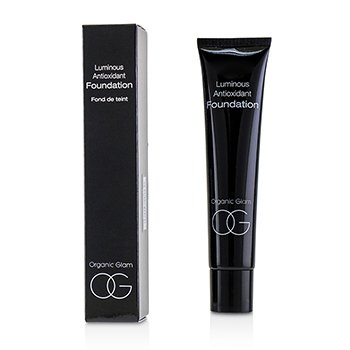 THE ORGANIC PHARMACY ORGANIC GLAM LUMINOUS ANTIOXIDANT FOUNDATION - # 04  40ML