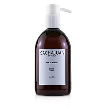 SACHAJUAN BODY WASH - SHINY CITRUS  500ML/16.9OZ