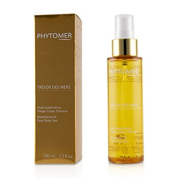PHYTOMER TRESOR DES MERS BEAUTIFYING OIL (FOR FACE, BODY AND HAIR)  100ML/3.3OZ