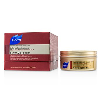 PHYTO PHYTOMILLESIME COLOR-ENHANCING MASK (COLOR-TREATED, HIGHLIGHTED HAIR)  200ML/7.05OZ