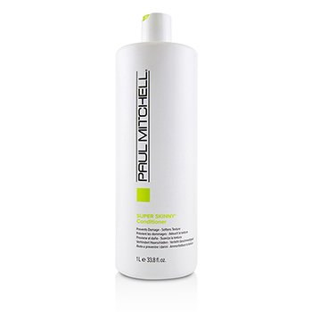PAUL MITCHELL SUPER SKINNY CONDITIONER (PREVENTS DAMGE - SOFTENS TEXTURE)  1000ML/33.8OZ