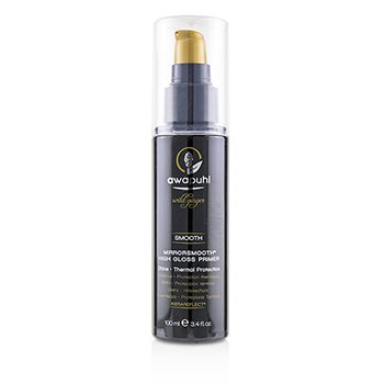 PAUL MITCHELL AWAPUHI WILD GINGER SMOOTH MIRRORSMOOTH HIGH GLOSS PRIMER (SHINE - THERMAL PROTECTION)  100ML/3.4OZ