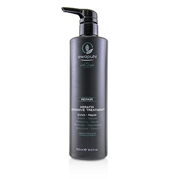 PAUL MITCHELL AWAPUHI WILD GINGER REPAIR KERATIN INTENSIVE TREATMENT (ENRICH - REPAIR)  500ML/16.9OZ