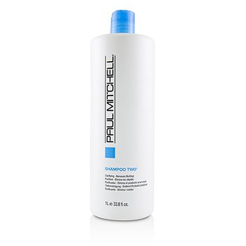 PAUL MITCHELL SHAMPOO TWO (CLARIFYING - REMOVES BUILDUP)  1000ML/33.8OZ