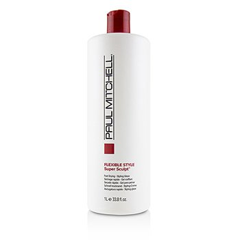 PAUL MITCHELL FLEXIBLE STYLE SUPER SCULPT (FAST DRYING - STYLING GLAZE)  1000ML/33.8OZ