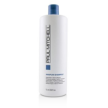 PAUL MITCHELL AWAPUHI SHAMPOO (ORIGINAL WASH - BALANCES MOISTURE)  1000ML/33.8OZ