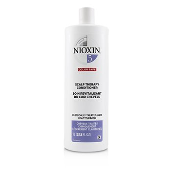 NIOXIN DENSITY SYSTEM 5 SCALP THERAPY CONDITIONER (CHEMICALLY TREATED HAIR, LIGHT THINNING, COLOR SAFE)  1000ML/33.8OZ
