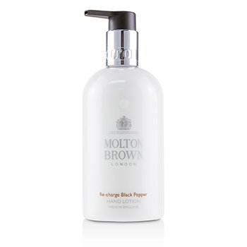 MOLTON BROWN RE-CHARGE BLACK PEPPER HAND LOTION  300ML/10OZ