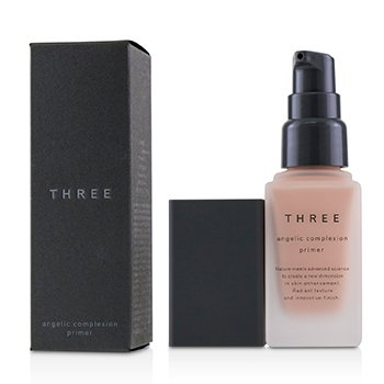 THREE ANGELIC COMPLEXION PRIMER SPF22 - # 01 PINK PETAL  30G/1.06OZ