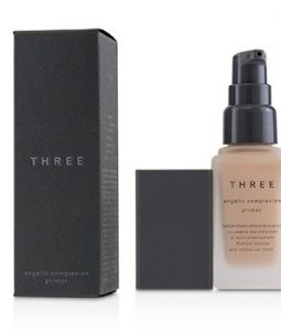 THREE ANGELIC COMPLEXION PRIMER SPF22 - # 02 JUST PEACHY  30G/1.06OZ