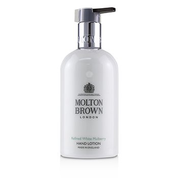 MOLTON BROWN REFINED WHITE MULBERRY HAND LOTION  300ML/10OZ