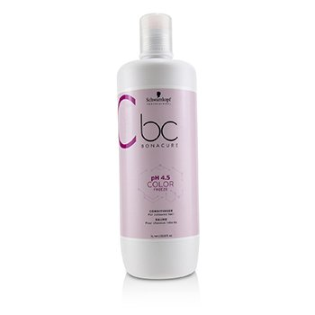 SCHWARZKOPF BC BONACURE PH 4.5 COLOR FREEZE CONDITIONER (FOR COLOURED HAIR)  1000ML/33.8OZ