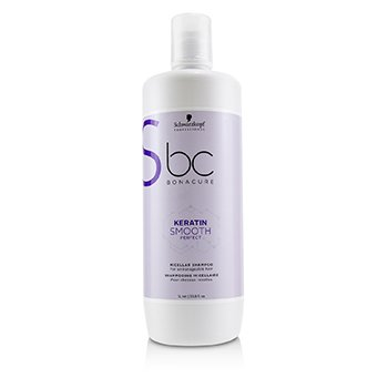 SCHWARZKOPF BC BONACURE KERATIN SMOOTH PERFECT MICELLAR SHAMPOO (FOR UNMANAGEABLE HAIR)  1000ML/33.8OZ