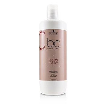 SCHWARZKOPF BC BONACURE PEPTIDE REPAIR RESCUE CONDITIONER (FOR DAMAGED HAIR)  1000ML/33.8OZ