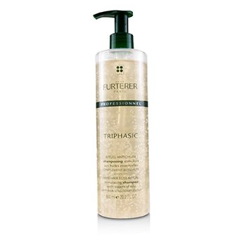 RENE FURTERER TRIPHASIC ANTI-HAIR LOSS RITUAL STIMULATING SHAMPOO (SALON PRODUCT)  600ML/20.2OZ