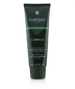 RENE FURTERER CURBICIA PURIFYING RITUAL PURIFYING CLAY SHAMPOO - OILY SCALP (SALON PRODUCT)  250ML/9OZ