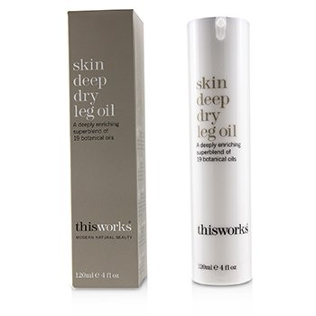 THIS WORKS SKIN DEEP DRY LEG OIL  120ML/4OZ