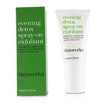 THIS WORKS EVENING DETOX SPRAY-ON EXFOLIANT  60ML/2OZ