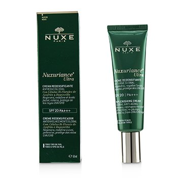 NUXE NUXURIANCE ULTRA GLOBAL ANTI-AGING REPLENISHING FLUID CREAM SPF 20 - ALL SKIN TYPES  50ML/1.5OZ