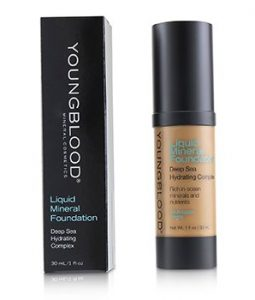 YOUNGBLOOD LIQUID MINERAL FOUNDATION - BARADOS  30ML/1OZ