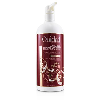 OUIDAD ADVANCED CLIMATE CONTROL HEAT & HUMIDITY GEL (ALL CURL TYPES - STRONGER HOLD)  1000ML/33.8OZ