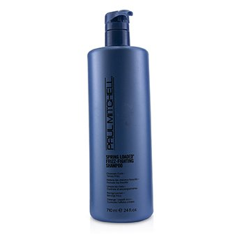 PAUL MITCHELL SPRING LOADED FRIZZ-FIGHTING SHAMPOO (CLEANSES CURLS, TAMES FRIZZ)  710ML/24OZ