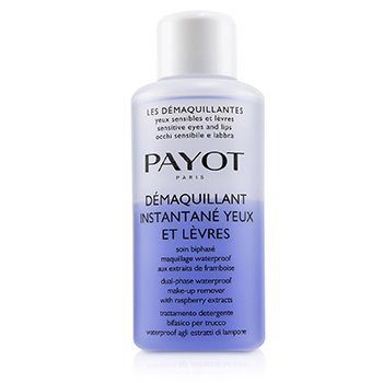 PAYOT LES DEMAQUILLANTES DEMAQUILLANT INSTANTANE YEUX DUAL-PHASE WATERPROOF MAKE-UP REMOVER - FOR SENSITIVE EYES (SALON SIZE)  200ML/6.7OZ