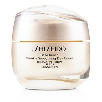 SHISEIDO BENEFIANCE WRINKLE SMOOTHING DAY CREAM SPF 23  50ML/1.8OZ