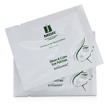 MBR MEDICAL BEAUTY RESEARCH BIOCHANGE SILKEN & CALM EYE PATCHES  6PAIRS