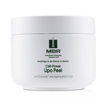 MBR MEDICAL BEAUTY RESEARCH BIOCHANGE ANTI-AGEING BODY CARE CELL-POWER LIPO PEEL  200ML/6.8OZ