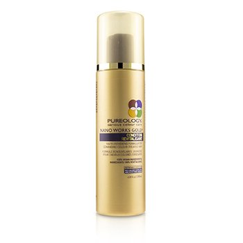 PUREOLOGY NANO WORKS GOLD CONDITION (YOUTH-RENEWING FORMULA FOR DEMANDING COLOUR-TREATED HAIR)  200ML/6.8OZ