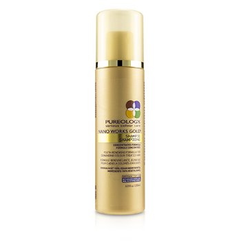 PUREOLOGY NANO WORKS GOLD SHAMPOO (YOUTH-RENEWING FORMULA FOR DEMANDING COLOUR-TREATED HAIR)  200ML/6.8OZ