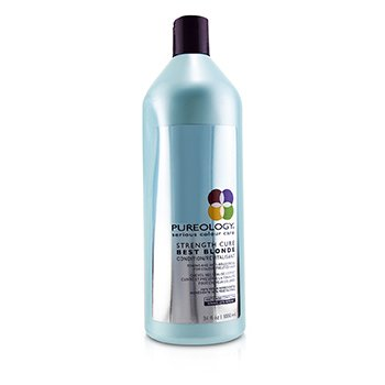PUREOLOGY STRENGTH CURE BEST BLONDE CONDITION (TONING AND ANTI-BRASSINESS FOR COLOUR-TREATED HAIR)  1000ML/34OZ