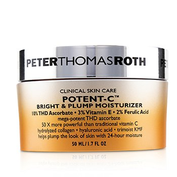 PETER THOMAS ROTH POTENT-C BRIGHT & PLUMP MOISTURIZER  50ML/1.7OZ