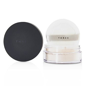 THREE ULTIMATE DIAPHANOUS LOOSE POWDER - # 01 GLOW  17G/0.59OZ