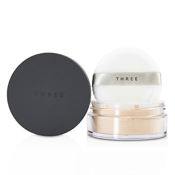 THREE ULTIMATE DIAPHANOUS LOOSE POWDER - # 02 TRANSLUCENT  17G/0.59OZ