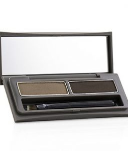 THREE PRESSED EYEBROW DUO - # 03  1.6G/0.05OZ