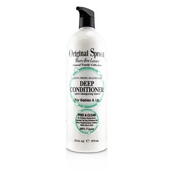 ORIGINAL SPROUT NATURAL FAMILY COLLECTION DEEP CONDITIONER (FOR BABIES & UP - SOFT, STRONG, HEALTHY HAIR)  975ML/33OZ