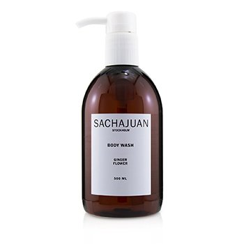 SACHAJUAN BODY WASH - GINGER FLOWER  500ML/16.9OZ