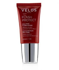 VELD'S FLASH PROTECT SKIN GLOW FLUID ROLL -TONE (BEAUTY SHIELD) - DARK SKIN NUDE  30ML/1OZ